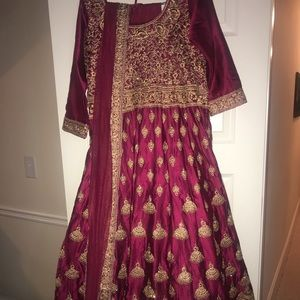 Indian Dress, comes with pants and scarf